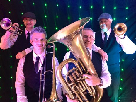 modern brass band hire